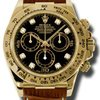 Rolex Daytona Yellow Gold Mens Watch 116518BKDBR