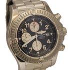 Breitling Super Avenger Chronograph 48mm Blue Dial Watch