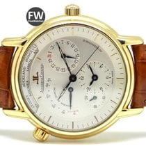 Jaeger-LeCoultre Master Control Geographic 18k Yellow Gold