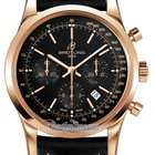 Breitling Transocean Chronograph 43mm Mens Watch