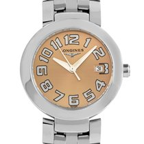 Longines Ladies Stainless Steel Quartz Watch L5.505.4.93.6