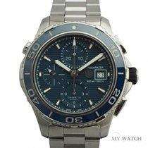 TAG Heuer Aquaracer Chronograph BlueDial CAK2112.BA0833(USED