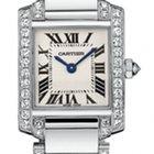 Cartier Tank Francaise 18kt White Gold Diamond Bracelet Ladies...