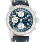 Breitling Navitimer Ii Blue Dial Automatic Steel Watch A13022
