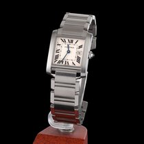Cartier Tank Francaise Steel Quartz Medium Size