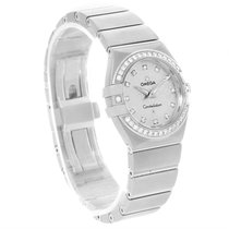 Omega Constellation 27mm Diamond Ladies Watch 123.15.27.60.52.001