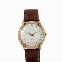 Doxa Vintage Wristwatch, 18K Gold, Switzerland, 1960s