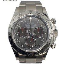 Rolex Cosmograph Daytona 116509 White Gold Grey Dial