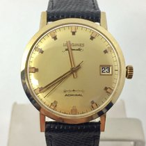 Longines Solid 14k ADMIRAL 5 STAR Automatic Watch 1960s Cal 505