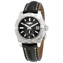 Breitling Galactic 36 Black Dial Automatic Mens Watch A3733012...