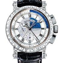 Breguet Brequet Marine 5829 18K White Gold & Diamonds...
