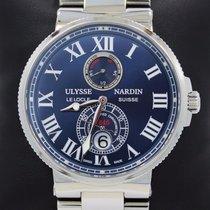 Ulysse Nardin Maxi Marine 263-67 Chronometer 43mm Blue Dial...