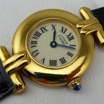 Cartier Must Vermeil Quarz - Silber 925 - new Cartier strap