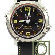 Anonimo Marlin steel black dial NEW