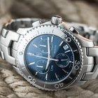 TAG Heuer Link Chronograph Quartz Blue Dial Watch