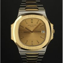 "Patek Philippe Nautilus ""Jumbo"" 3700 steel & gold..."