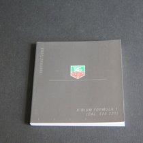 TAG Heuer Instructions Kirium Formula 1 Booklet
