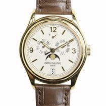 Patek Philippe New  Complications Gold White Automatic 5146J-001