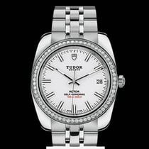 Tudor Classic Date  Automatic White Dial Steel  T