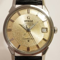 "Omega Constellation, cadran ""pie-pan"", certifié..."