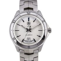 TAG Heuer Link Calibre 5 Day-Date White