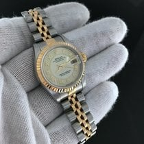 Rolex Datejust Two Tone 79173 Two Tone Gold Dial 'k'...