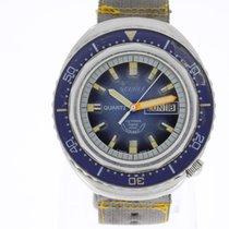 Squale 100 Atmos Saphir 2002 Vintage Diver's Watch