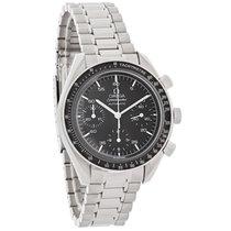 Omega Speedmaster Black Dial Swiss Automatic Chronograph Watch...