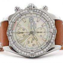 Breitling Chronomat Evolution Factory MOP Diamond Dial &...