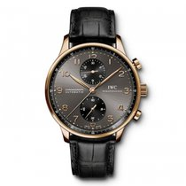 IWC Portugieser Chronograph  Ardoise Dial Automatic IW371482...