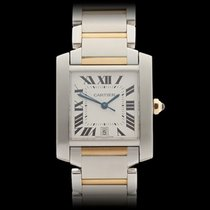 Cartier Tank Francaise Stainless Steel/18k Yellow Gold Unisex...