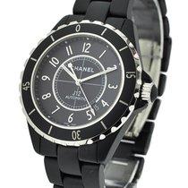 Chanel H3131 J12 42mm Matte Black Automatic in Black Ceramic -...