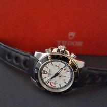 Tudor Grantour Chronograph acciaio Ref.. 20350N