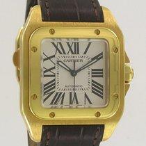 Cartier Santos 100 MM Yellow Gold