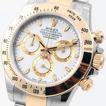 Rolex 18K/SS Daytona White Dial 116523 Unworn