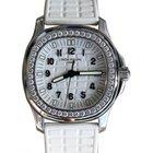 Patek Philippe Ladies Aquanaut 5067A-011 35.6mm White Arabic...