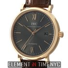 IWC Portofino Collection 18k Rose Gold Date Ardoise Dial 40mm...