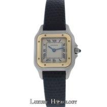 Cartier Genuine Ladies Panthere 18K Gold  Steel 22mm Quartz