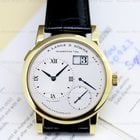 A. Lange & Söhne Lange 1 18K Yellow Gold Blue Hands Silver...
