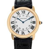 Cartier Ronde Solo Quartz Date Mens watch W6700455