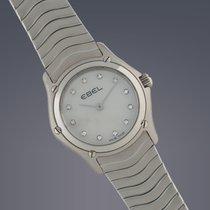 Ebel Ladies Classic Mini stainless steel diamond set dial...
