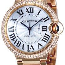 Cartier Ballon Bleu Midsize 18K Solid Rose Gold Diamonds...