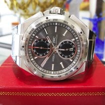 IWC Ingenieur Racer Automatic Chronograph Date Stainless Steel...