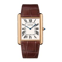 Cartier Tank Louis Manual Mens Watch Ref W1560017
