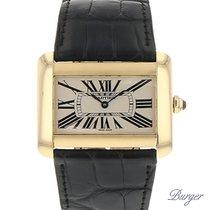 Cartier Divan GM Yellow Gold Quartz