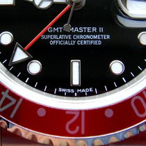 ロレックス (Rolex) GMT II Stick Dial Ref 16710++NEAR NOS++ B&P...