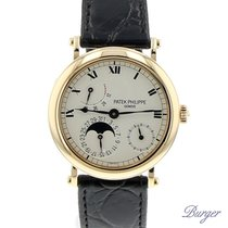 Patek Philippe Complications Power Reserve Moonphase Yellow Gold