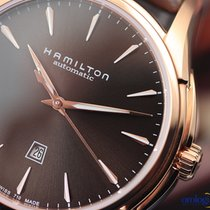 Hamilton Ladie's Jazzmaster Viewmatic Auto  PVD Rose Gold...