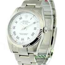 Rolex Unworn 114234 Air-King with White Gold Fluted Bezel...