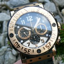 Paul Picot C-Type Chrono 48mm titan 18kt rot Gold